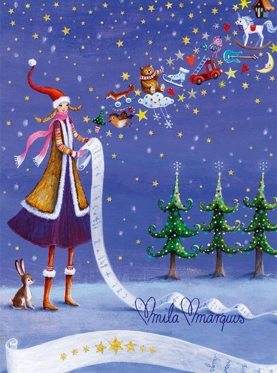 Image féerique pour Noël...