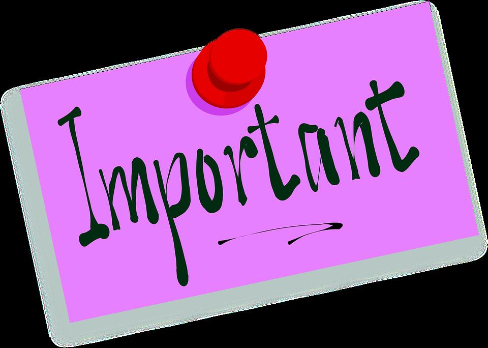 Informations importante, changement de créneaux !!
