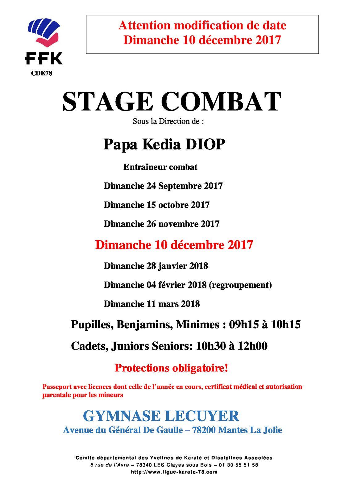 information stage combat