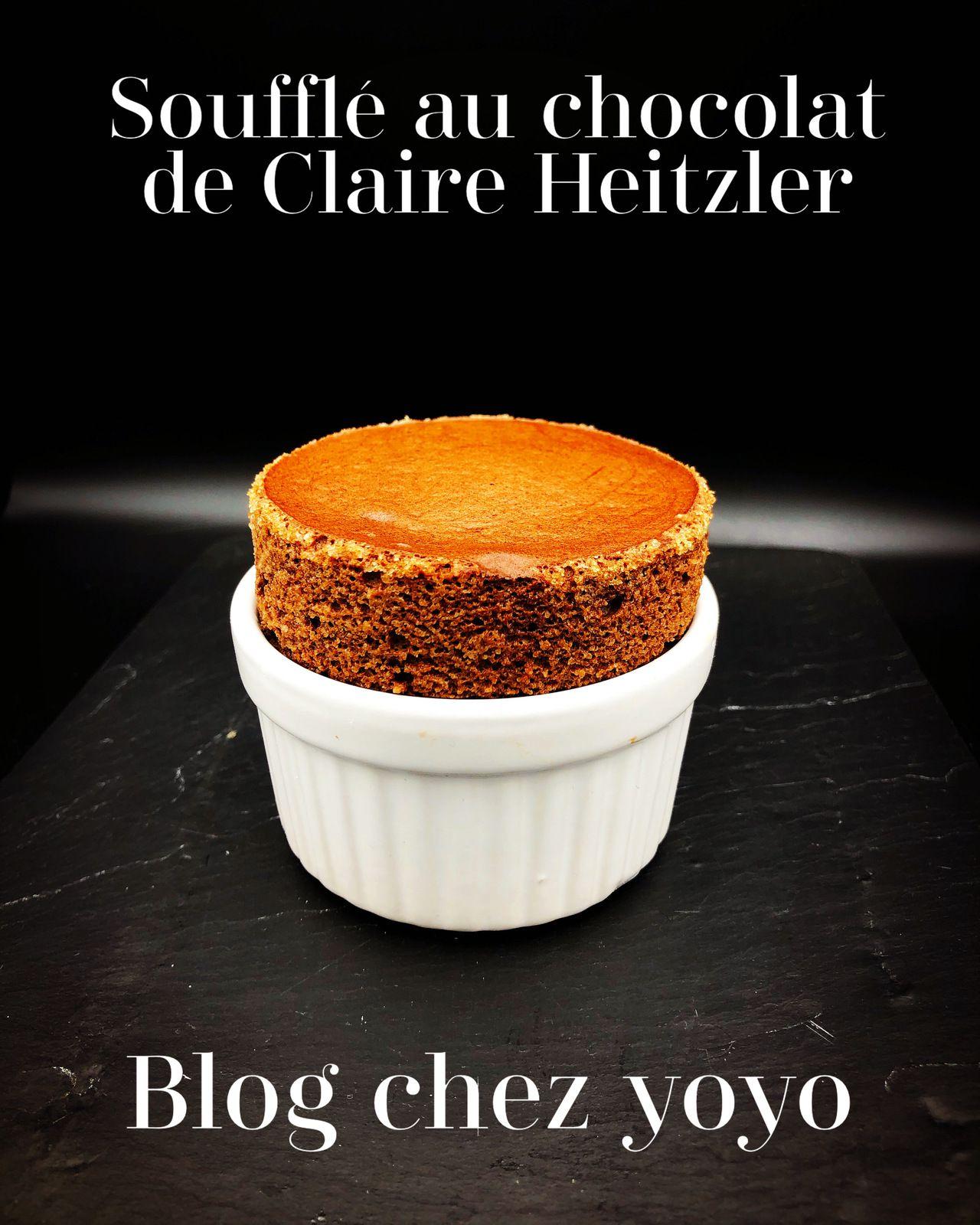 Soufflés au chocolat de Claire Heitzler