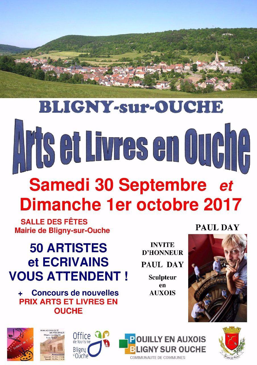 Affiche Salon de Bligny-sur-Ouche 2017.