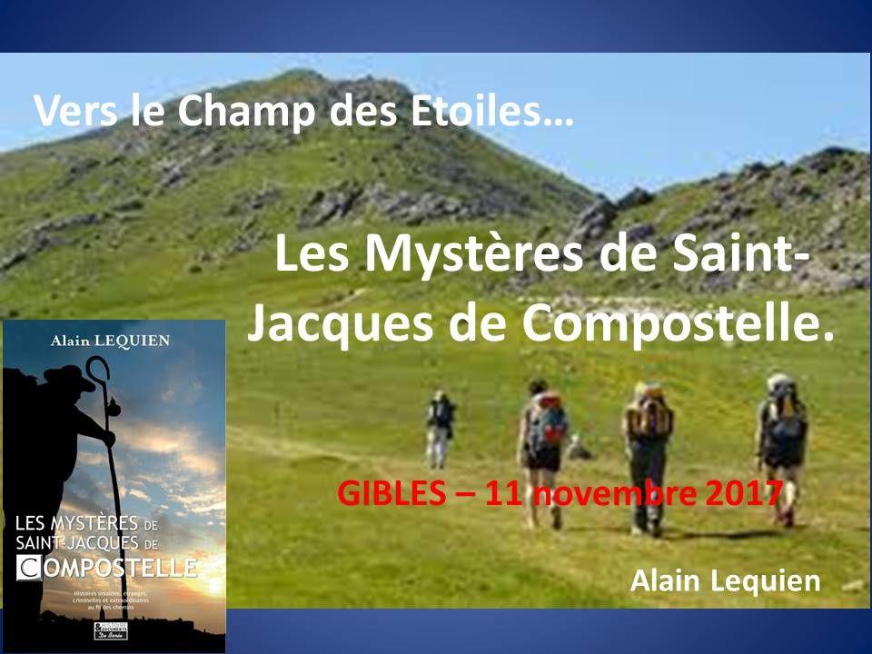 Conference Saint-Jacques de Compostelle.