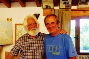 Padre Ernesto et Alain Lequien.