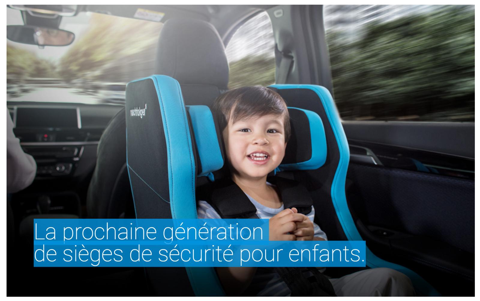 HY5.1 Nachfolger TT : Le premier siège auto dos route gonflable haut de gamme