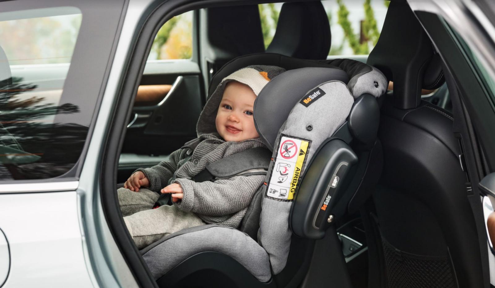 Le meilleur siège auto ADAC, le Besafe iZi Kid X3 i-Size