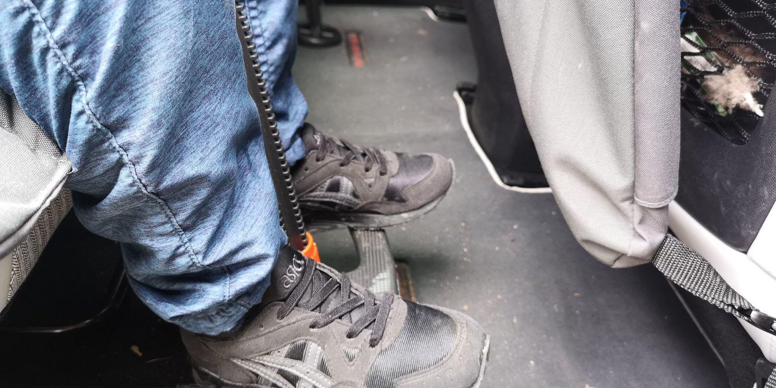 Test du repose-pieds pour siège auto Footup