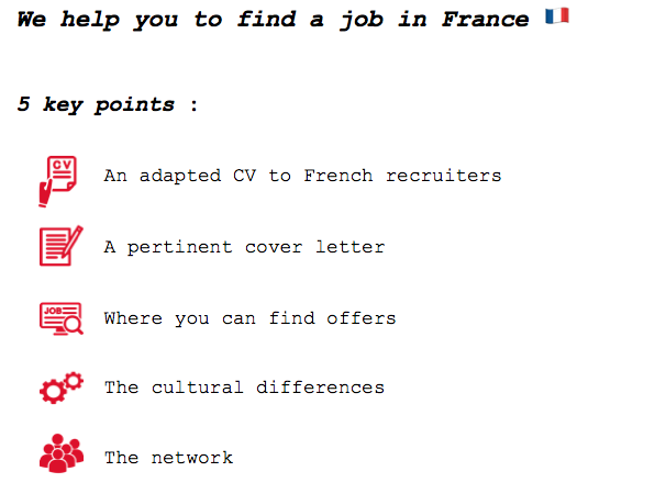 How to find a job in France : 5 key points – Absolutely French