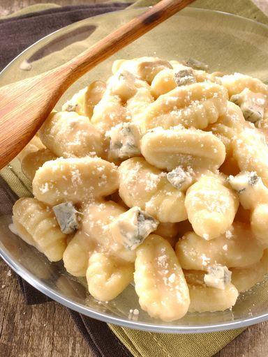 Gnocchi au gorgonzola et parmesan