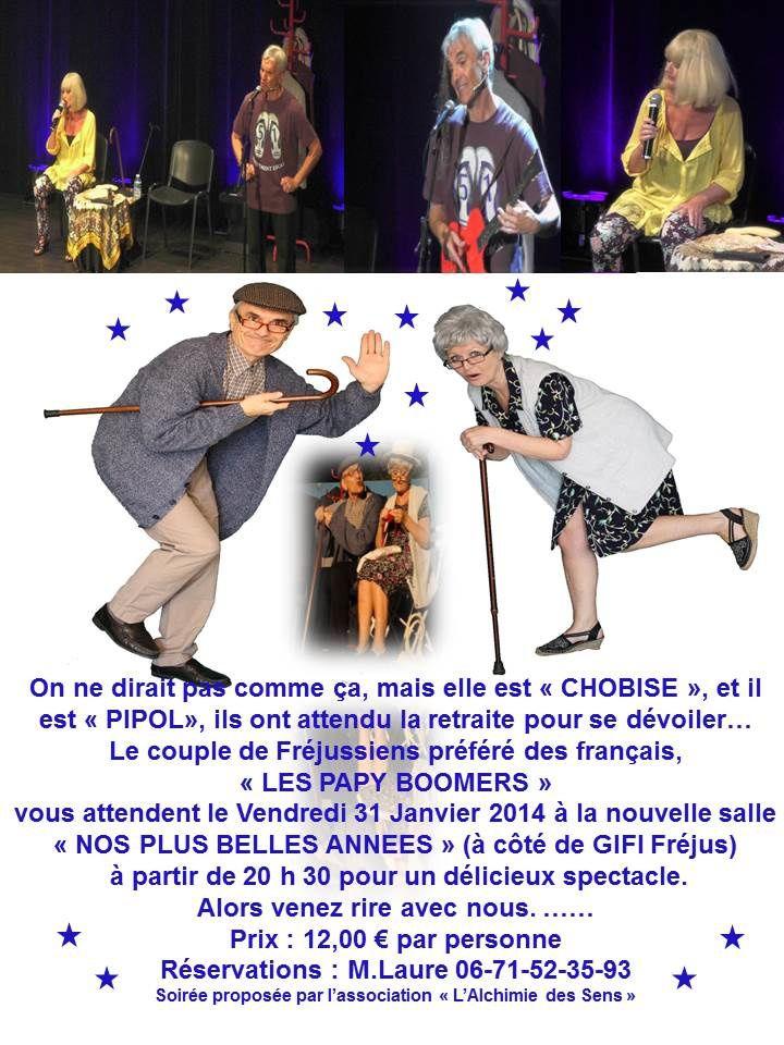 """""""Les Papy Boomers"""" le 31 janvier"""