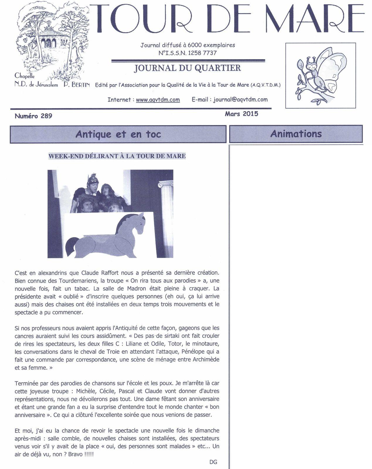 Journal de la Tour de Mare 15