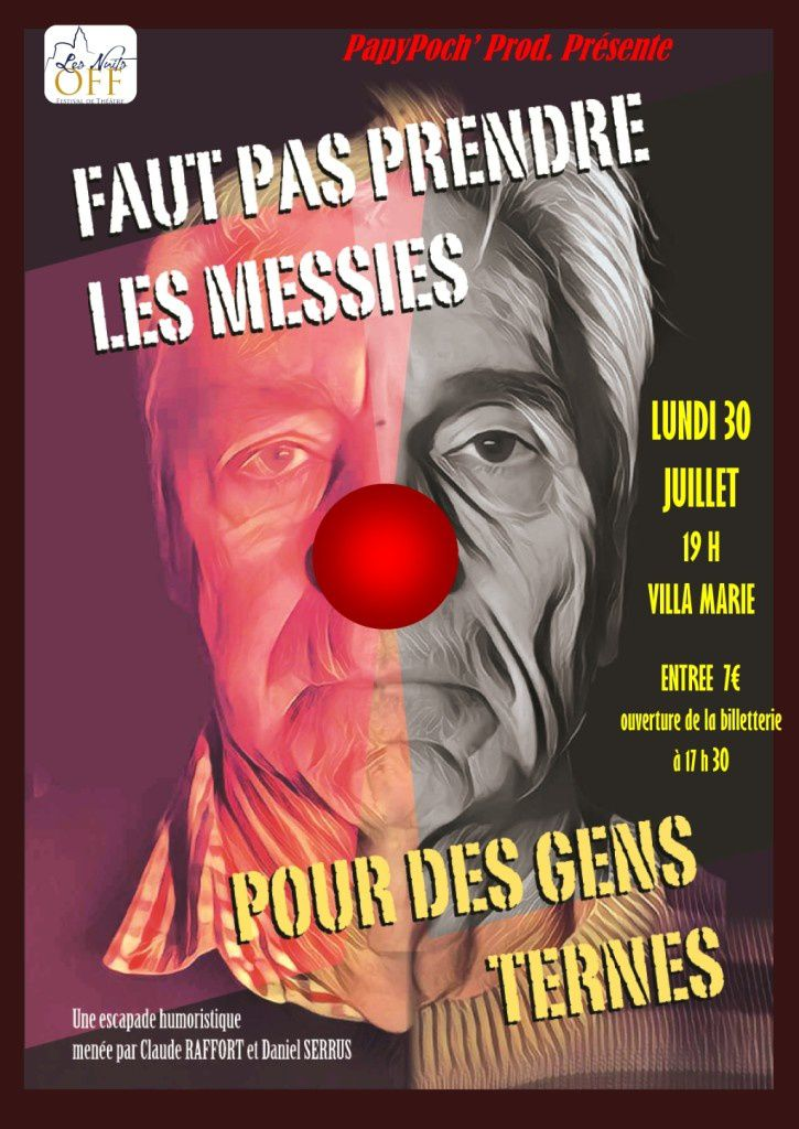 NUITS OFF 2018: LES MESSIES AUSSI !