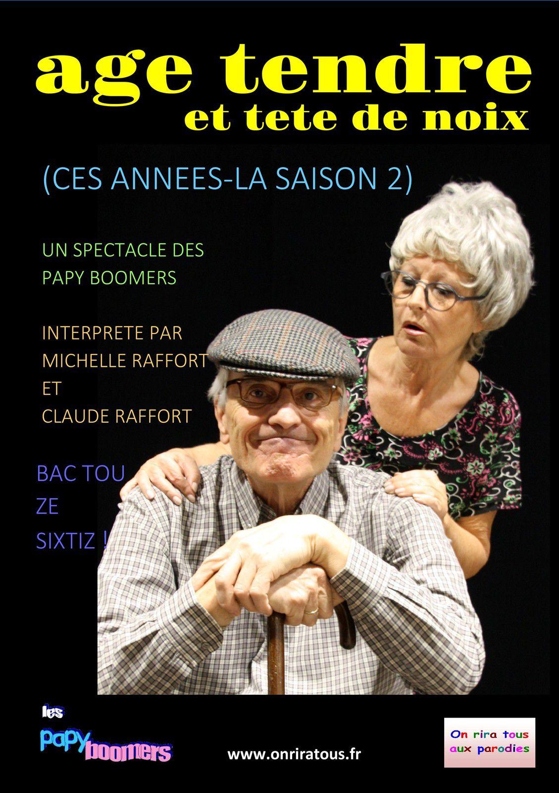 AGE TENDRE ET TETE DE NOIX le 21 Août à La Motte (83)