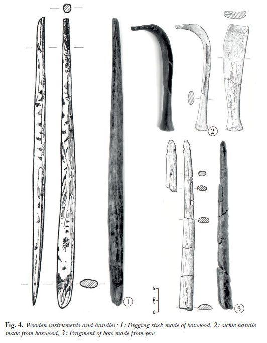Outils agricoles néolithiques...