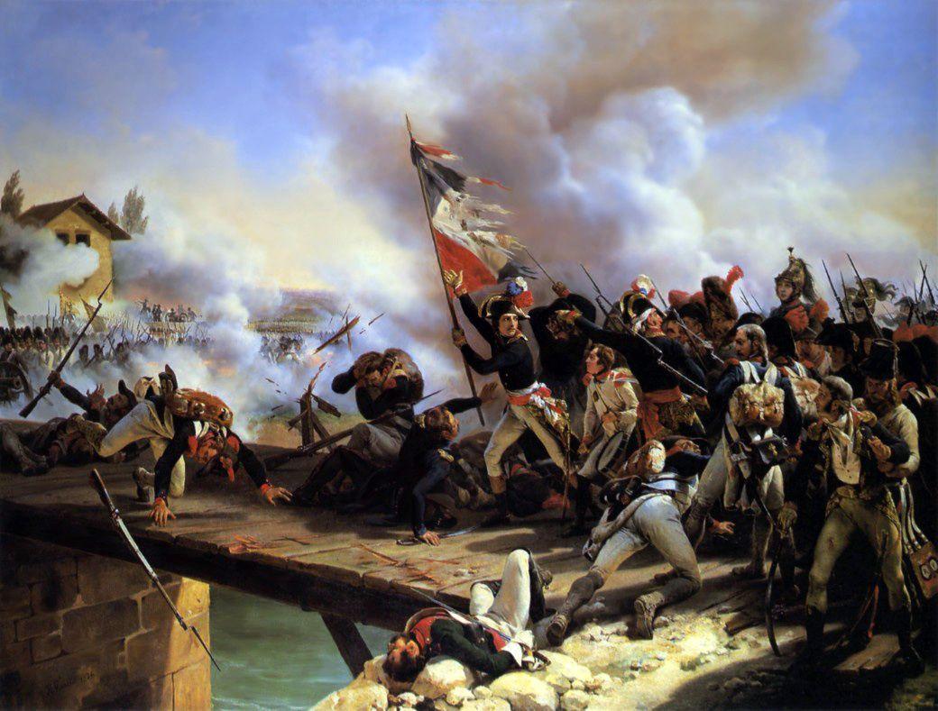 La Bataille du Pont d'Arcole - Horace Vernet