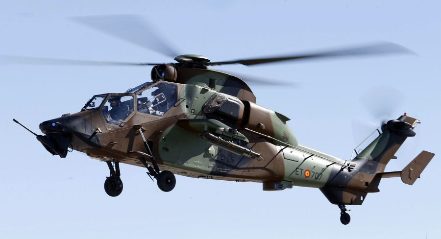 Tiger HAD-E Attack Helicopter from Spanish Armed Forces photo Fuerzas Aeromóviles del Ejército de Tierra