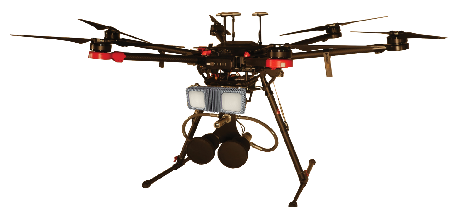"Powered by Fortem TrueView Radar, DroneHunter acts as ""eyes in the sky"" to alert security personnel of rogue aircraft operating in no-fly zones or unauthorized airspace"