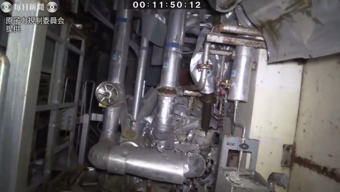 Enquête dans l'unité 3 de Fukushima Daiichi