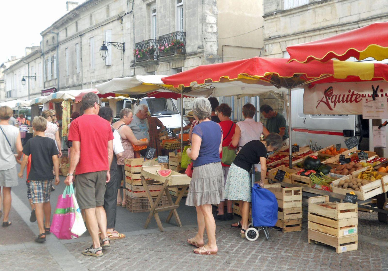 marché de Créon