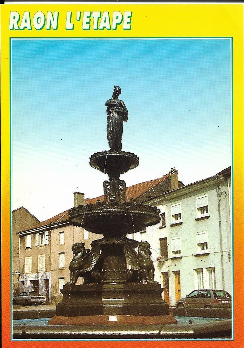 fontaine Raon l'Etape