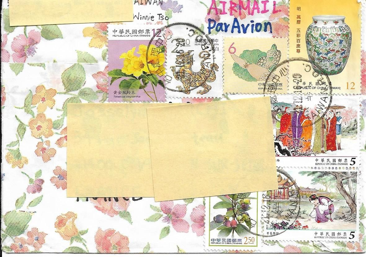 enveloppes décorées suite