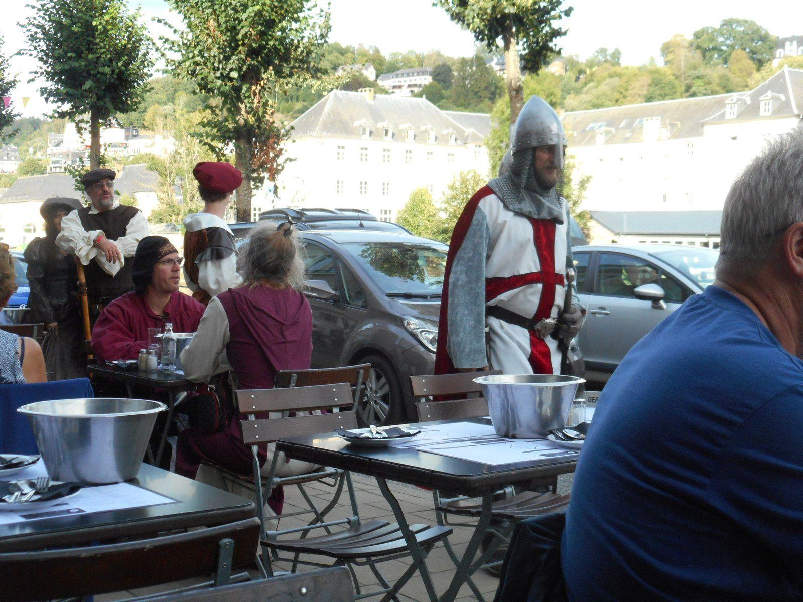 fête médiévale Bouillon Belgique