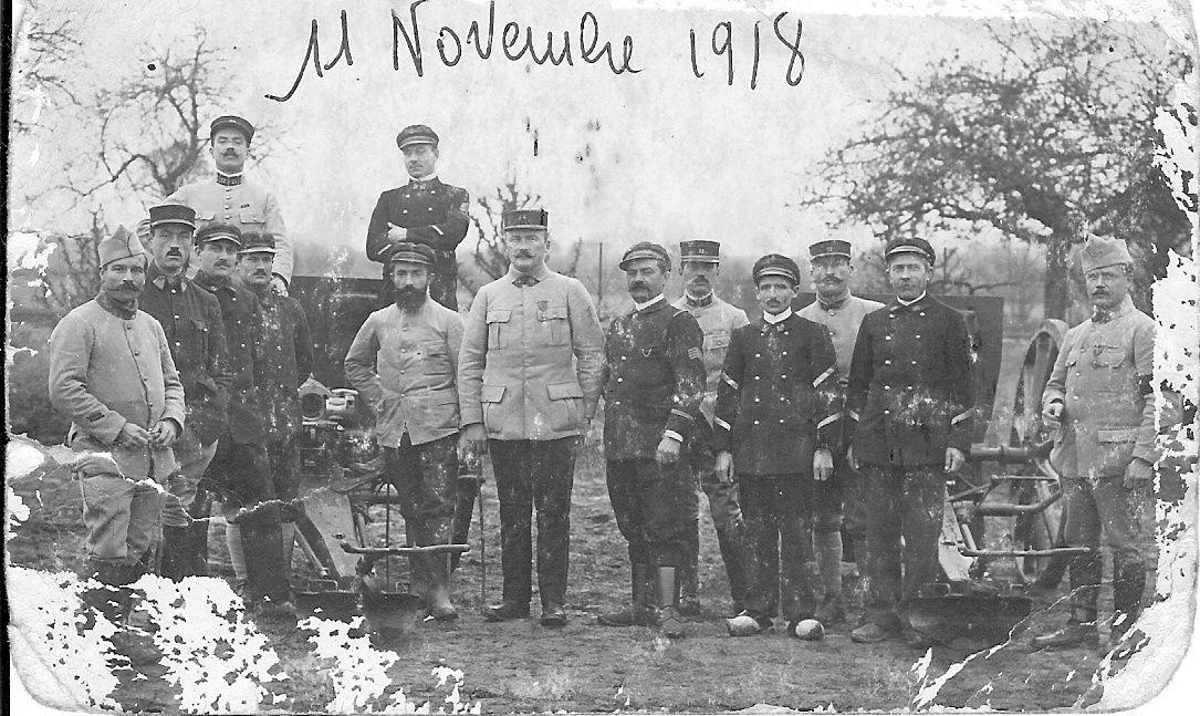 11 novembre 1918 mon arrière grand-père Louis