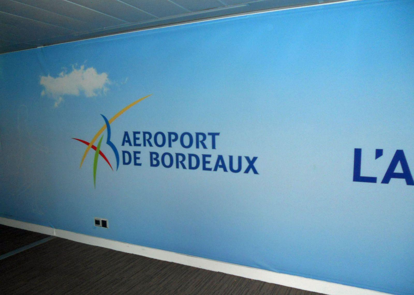 aéroport  de Mérignac- Bordeaux