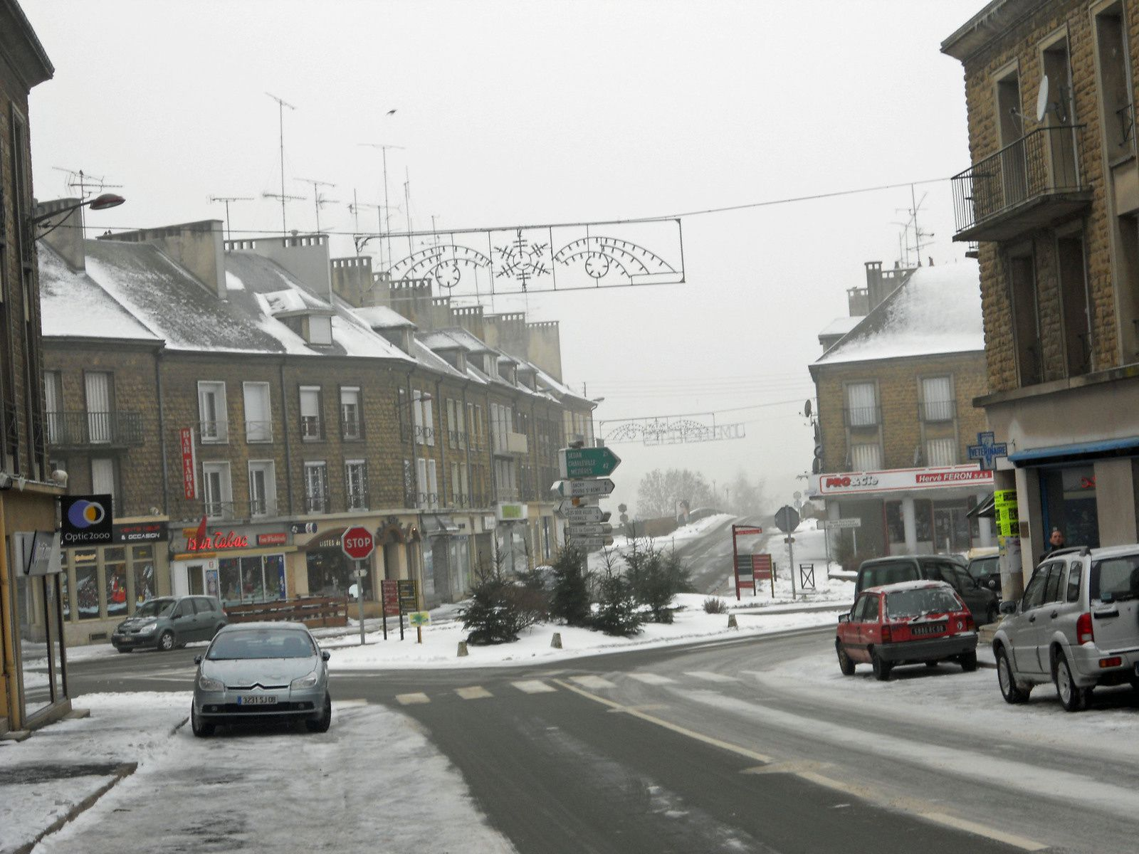 hiver Ardennes