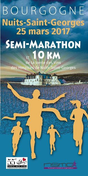 Samedi 25 mars 2017 - Semi-marathon de Nuits-saint-Georges