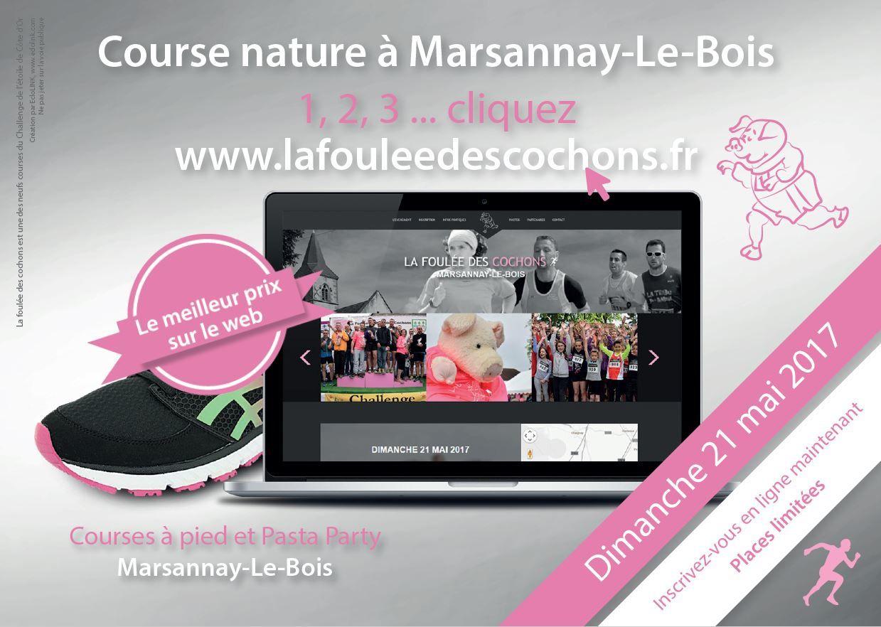 Dimanche 21 mai 2017 - La Foulée des Cochons - Marsannay-le-Bois