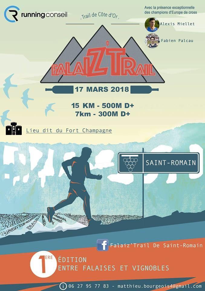 Samedi 17 mars 2018 - Falaiz'Trail - Saint-Romain
