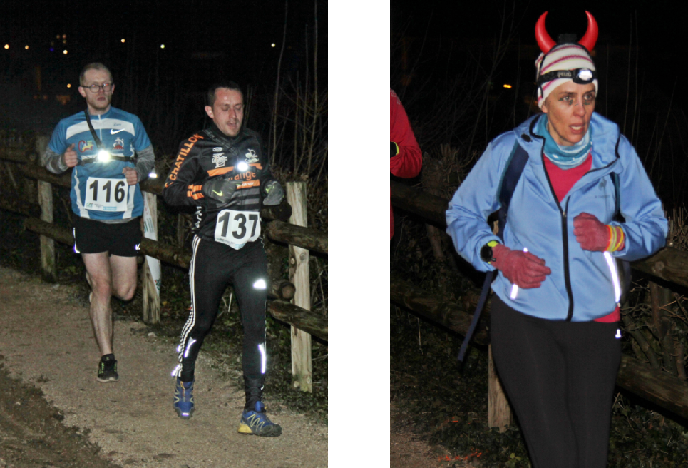 Trail nocturne de Chatillon-sur-Seine - photo 2017