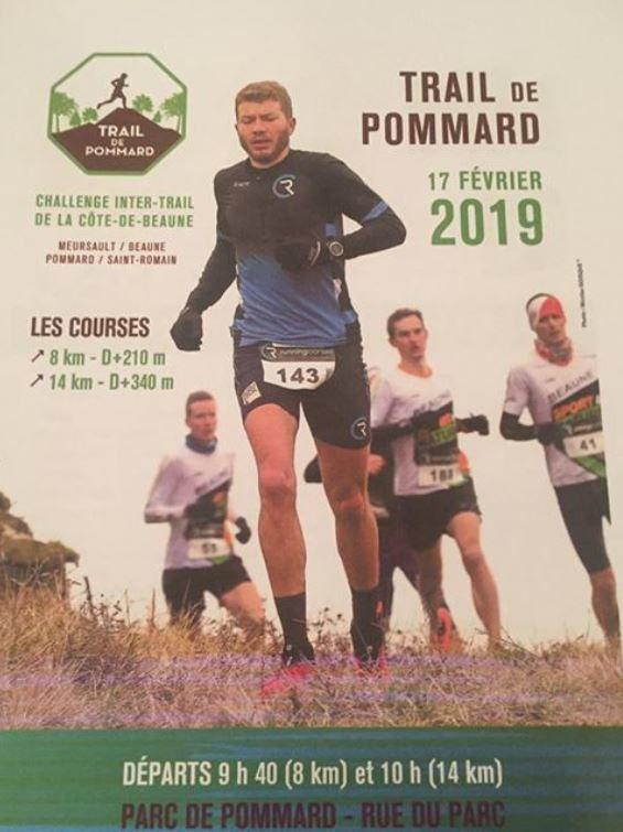 Dimanche 17 février 2019 - Trail de Pommard