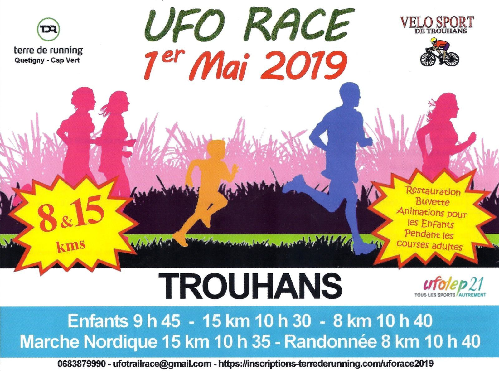 Mercredi 1er mai 2019 - UFO Race - Trouhans