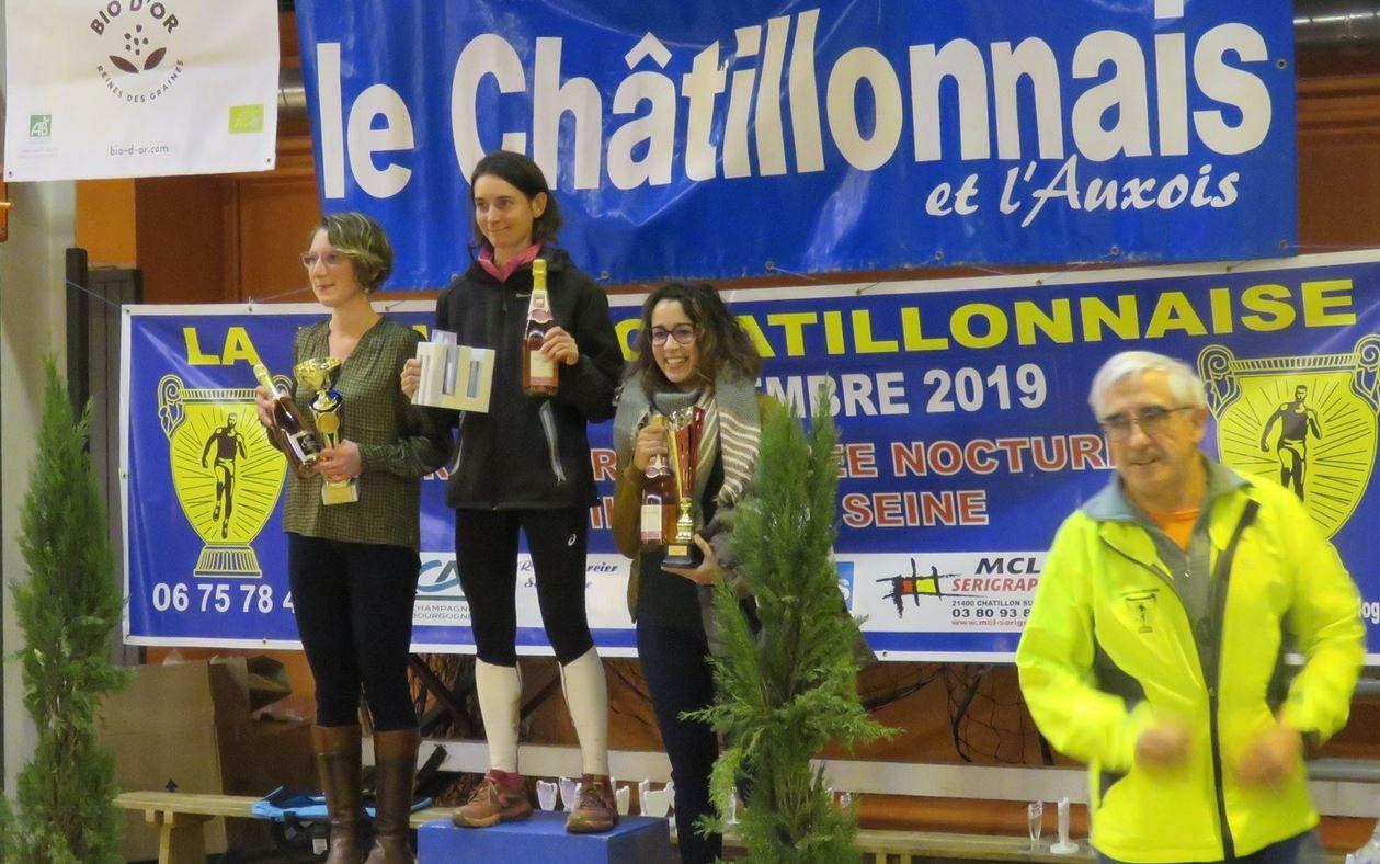 Trail de la Foulée chatillonnaise 2019 - Podiums