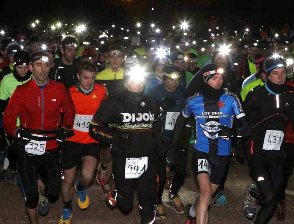 Le départ du Night and Run 2015