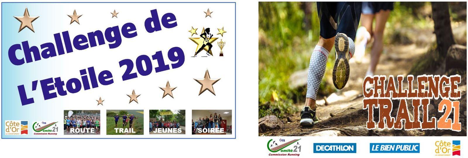 Dimanche 27 octobre 2019 - Trail du Bouton d'Or - Ahuy