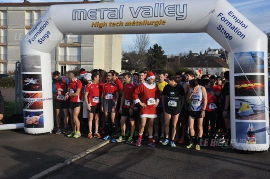 Corrida de Noël Montbard - photo 2015
