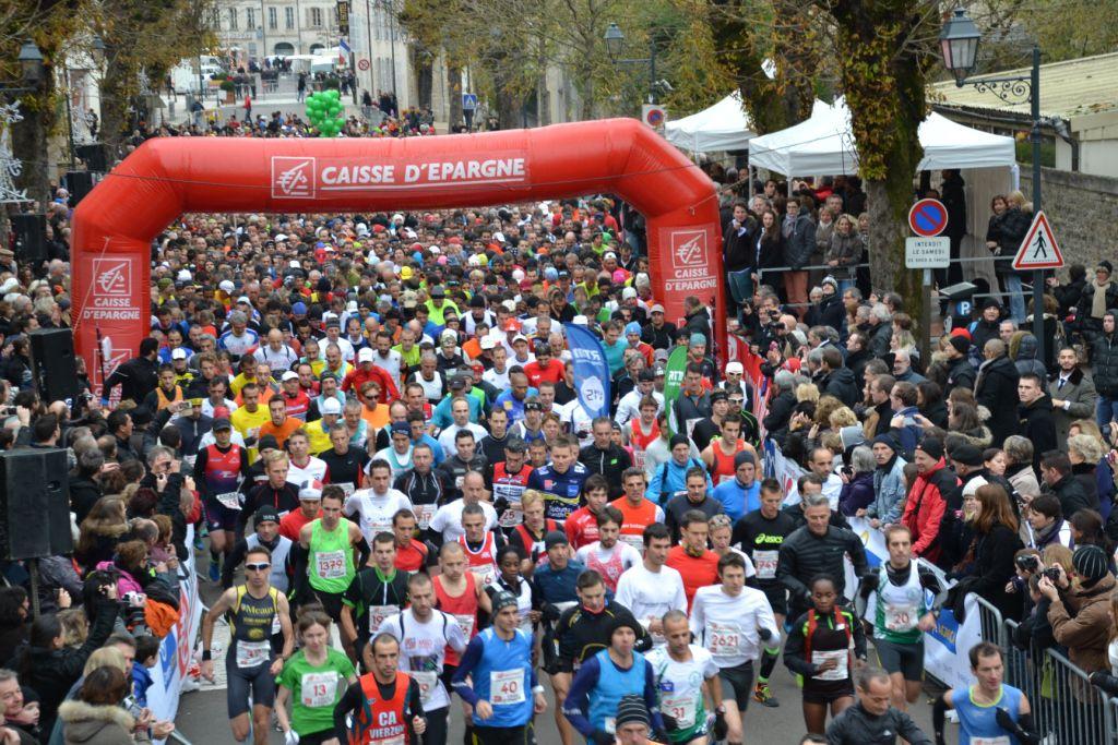 Semi marathon de la vente des vins des Hospices de Beaune - photo 2014