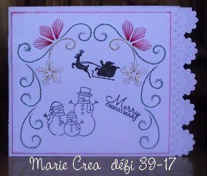 DEFI 39-2017 - CARTE BRODEE