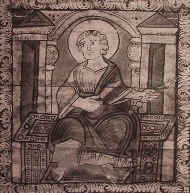 Joseph, peinture sur bois, première moitié du XIIème siècle, Eglise Saint-Martin de Zillis.