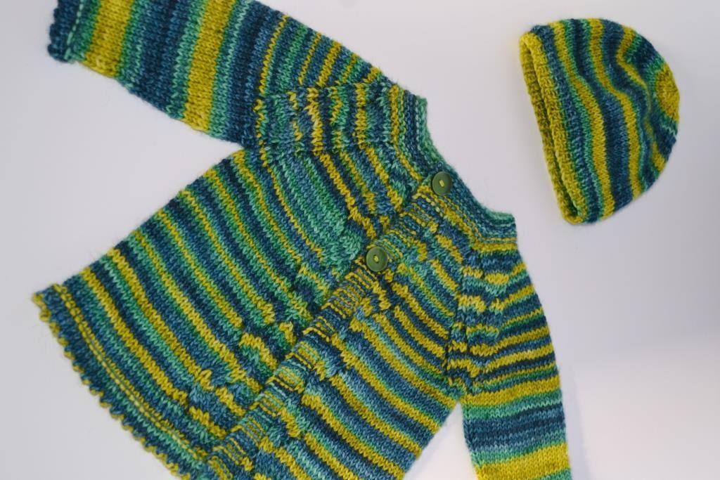 Unique tricot bebe - Nanou et ses 10 doigts XL13