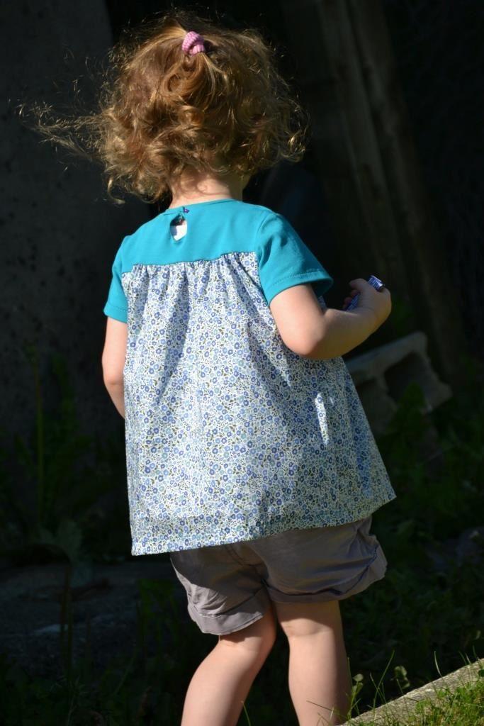 Les petites tuniques... à manches courtes