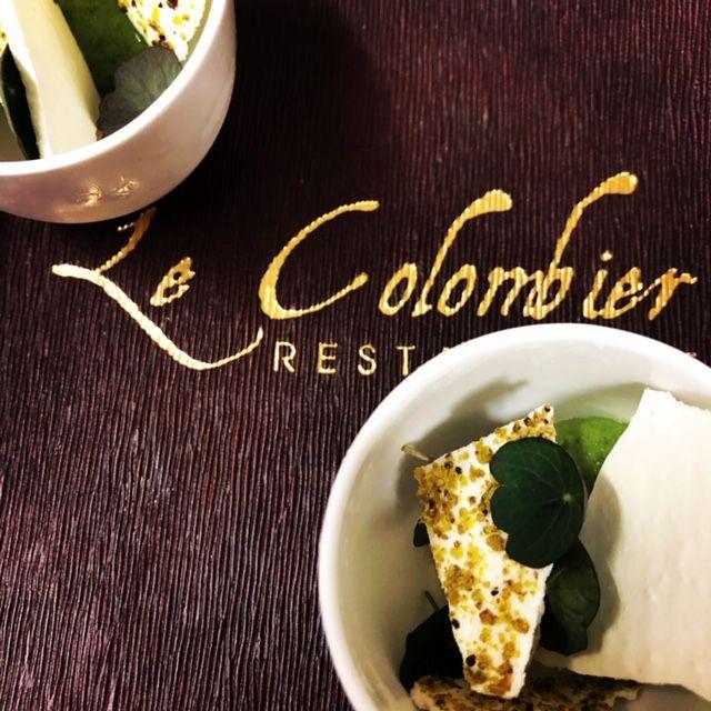 Voeux et truffe restautrant Colombier Offranville