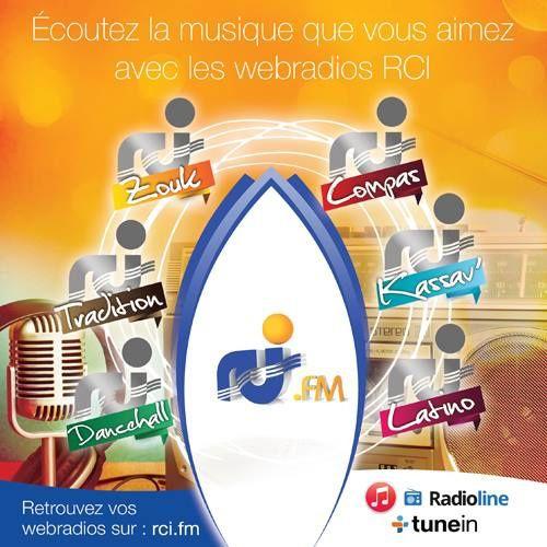Les 6 webradios de RCI sont désormais sur les plateformes iTunes, Radioline et TuneIn Radio !