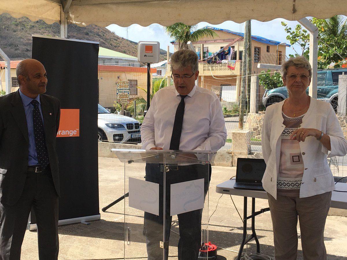 (MAJ-1) Orange Caraïbe : Inauguration d'une boucle locale radio 4G fixe, à Saint-Martin !
