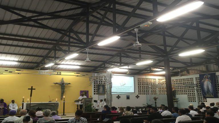 Martinique/Guadeloupe/Guyane la 1ère : Messe de Noël en direct de la Guyane
