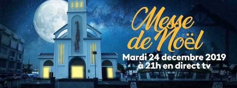 France Ô & Martinique/Guadeloupe/Guyane la 1ère : Messe de Noël