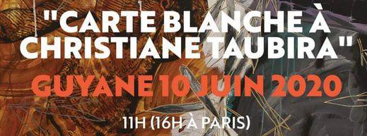 Commémoration numérique : Carte blanche à Christiane Taubira !