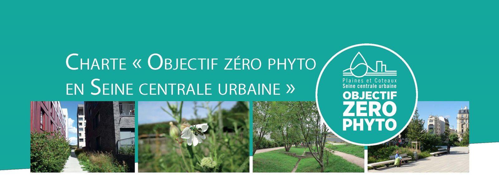 """Adhésion de Colombes à la charte """"Objectif Zéro Phyto en Seine Centrale Urbaine"""""""